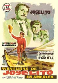 Adventures of Joselito and Tom Thumb - 11 x 17 Movie Poster - Spanish Style A