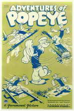 Adventures of Popeye - 11 x 17 Movie Poster - Style A