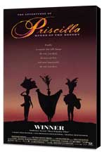 The Adventures of Priscilla, Queen of the Desert - 27 x 40 Movie Poster - Style B - Museum Wrapped Canvas