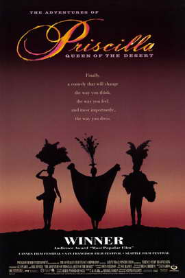 The Adventures of Priscilla, Queen of the Desert - 11 x 17 Movie Poster - Style B