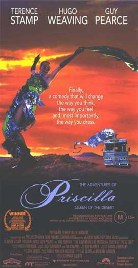 The Adventures of Priscilla, Queen of the Desert - 11 x 17 Movie Poster - Australian Style A