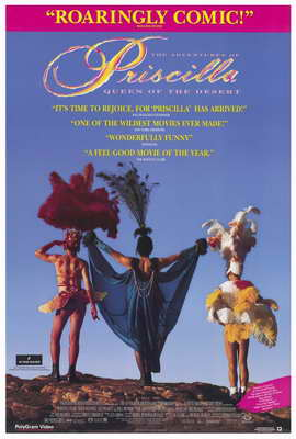 The Adventures of Priscilla, Queen of the Desert - 27 x 40 Movie Poster - Style A