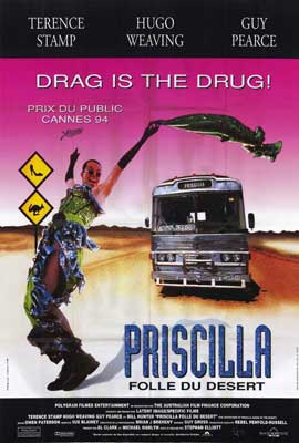 The Adventures of Priscilla, Queen of the Desert - 27 x 40 Movie Poster - French Style A