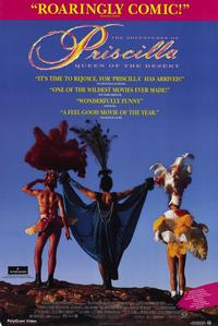 The Adventures of Priscilla, Queen of the Desert - 11 x 17 Movie Poster - Style A - Museum Wrapped Canvas