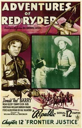 Adventures of Red Ryder - 11 x 17 Movie Poster - Style B