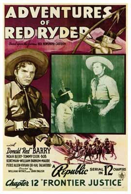 Adventures of Red Ryder - 27 x 40 Movie Poster - Style B