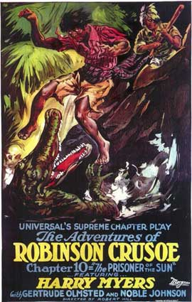 Adventures of Robinson Crusoe - 11 x 17 Movie Poster - Style A