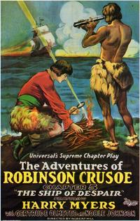 Adventures of Robinson Crusoe - 11 x 17 Movie Poster - Style B