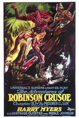 Adventures of Robinson Crusoe - 27 x 40 Movie Poster - Style A