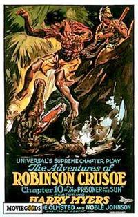 Adventures of Robinson Crusoe - 43 x 62 Movie Poster - Bus Shelter Style A