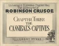 Adventures of Robinson Crusoe - 27 x 40 Movie Poster - Style B
