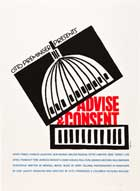 Advise & Consent - 27 x 40 Movie Poster - Style A