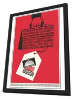 Advise and Consent - 27 x 40 Movie Poster - Style A - in Deluxe Wood Frame