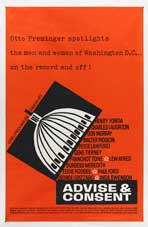 Advise and Consent - 11 x 17 Movie Poster - Style E