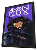 Aeon Flux - 11 x 17 Movie Poster - Style A - in Deluxe Wood Frame