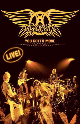 Aerosmith: You Gotta Move - 11 x 17 Movie Poster - Style A