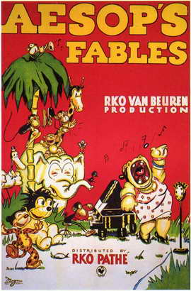Aesop's Fables - 11 x 17 Movie Poster - Style A