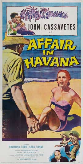 Affair in Havana - 20 x 40 Movie Poster - Style A