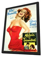 Affair in Trinidad - 11 x 17 Movie Poster - Style A - in Deluxe Wood Frame