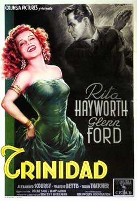 Affair in Trinidad - 11 x 17 Movie Poster - Italian Style A