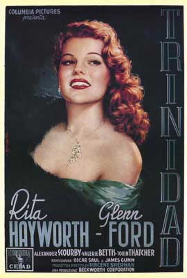 Affair in Trinidad - 11 x 17 Movie Poster - Italian Style B