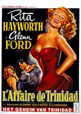 Affair in Trinidad - 11 x 17 Movie Poster - Belgian Style A