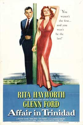 Affair in Trinidad - 27 x 40 Movie Poster - Style D