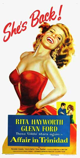 Affair in Trinidad - 14 x 36 Movie Poster - Insert Style B