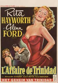 Affair in Trinidad - 30 x 40 Movie Poster - Belgian Style A
