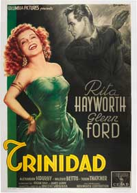 Affair in Trinidad - 27 x 40 Movie Poster - Italian Style B