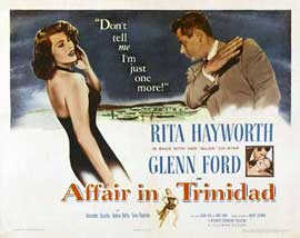 Affair in Trinidad - 22 x 28 Movie Poster - Half Sheet Style B