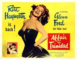 Affair in Trinidad - 27 x 40 Movie Poster - Style E