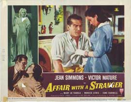 Affair With a Stranger - 11 x 14 Movie Poster - Style D
