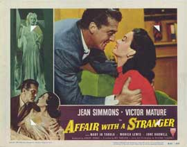 Affair With a Stranger - 11 x 14 Movie Poster - Style F