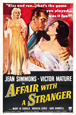 Affair With a Stranger - 27 x 40 Movie Poster - Style A
