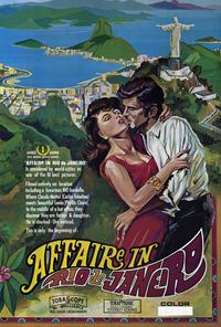 Affaire in Rio de Janeiro - 27 x 40 Movie Poster - Style A