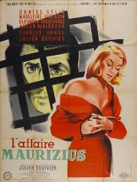 Affaire Maurizius, L - 11 x 17 Movie Poster - French Style A