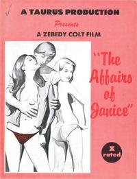 Affairs of Janice - 43 x 62 Movie Poster - Bus Shelter Style A