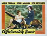 Affectionately Yours - 11 x 17 Movie Poster - Style B