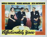 Affectionately Yours - 11 x 14 Movie Poster - Style B
