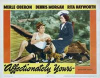Affectionately Yours - 11 x 14 Movie Poster - Style C