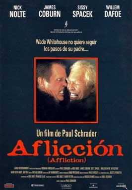 Affliction - 27 x 40 Movie Poster - Belgian Style B