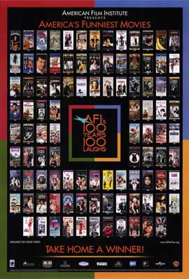 AFI - 100 Years of Laughs - 11 x 17 Movie Poster - Style A