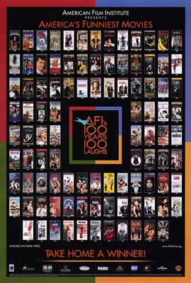 AFI - 100 Years of Laughs - 27 x 40 Movie Poster - Style A