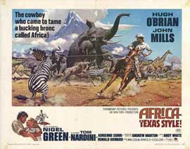 Africa Texas Style - 11 x 14 Movie Poster - Style A