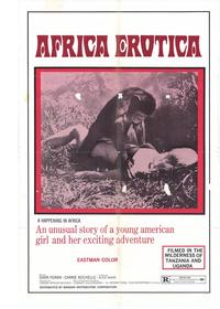 Africa Erotica - 27 x 40 Movie Poster - Style A