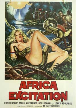 Africa Erotica - 11 x 17 Movie Poster - Italian Style A