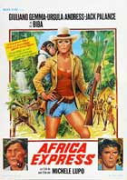 Africa Express - 27 x 40 Movie Poster - Belgian Style A