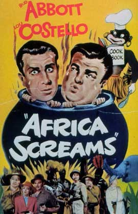 Africa Screams - 11 x 17 Movie Poster - Style A