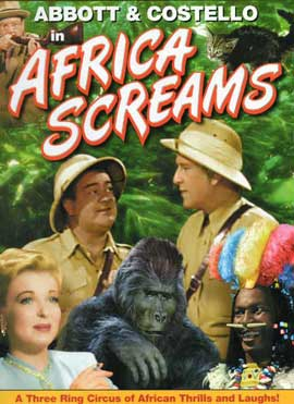 Africa Screams - 11 x 17 Movie Poster - Style B